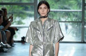SPFW: vestido metalizado, couro oversize e mais! 5 trends para você seguir