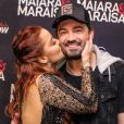 Maiara e Fernando Zor estão curtindo férias juntos em Orlando, nos Estados Unidos
