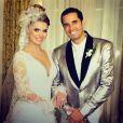 Latino se casou em 2013 com a modelo Rayanne Morais, que ainda não tem nenhum filho com o cantor