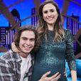 Tatá Werneck deu à luz primeira filha com Rafael Vitti, nesta quarta-feira, 23 de outubro de 2019