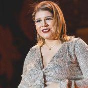 Aparência de Marília Mendonça na gravidez chama atenção em foto: 'Cara de mamãe'