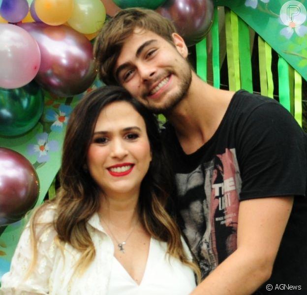 Rafael Vitti emocionou seus seguidores ao publicar um vídeo gravado horas antes de Tatá Werneck dar à luz Clara Maria