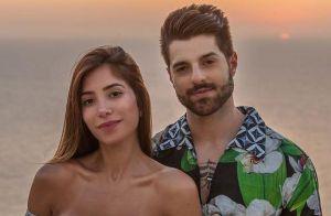 Grávida do 1º filho, Romana Novais ganha beijo de Alok durante malhação. Vídeo!