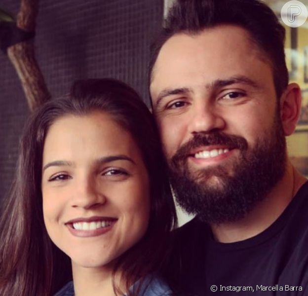 Mulher de Mateus, da dupla com Jorge, Marcella Barra mostrou forma pós-parto nesta quarta-feira, 30 de outubro de 2019