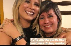 Marília Mendonça mostra foto com sogra em aniversário: 'Vovó do Léo'. Veja!