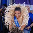 Ana Paula Minerato é a nova musa de bateria da Acadêmicos do Tatuapé para o carnaval 2020