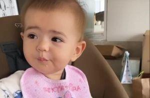 Zoe tagarela! Sabrina Sato mostra bate-papo com a filha: 'Já fala russo'