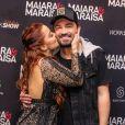 Fernando Zor comentou um emoji chateado no vídeo em que a namorada, Maiara, rebola com a irmã