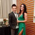 Zezé Di Camargo declarou que Graciele Lacerda foi mal interpretada: 'Ela se referia ao fato de estarmos morando juntos há algum tempo'
