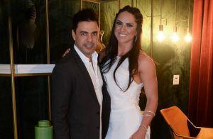Zezé Di Camargo diz não estar casado com Gracielle Lacerda: 'Mentira pura'