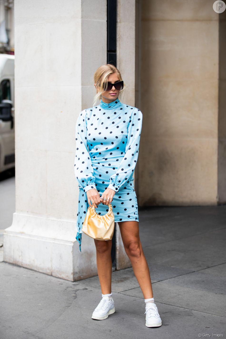 O poá vem mais moderno para o verão, com peças que combinam com tênis para um visual streetwear