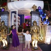 Filho de Mileide Mihaile, Yhudy ganha festa inspirada em filme da Disney. Fotos!