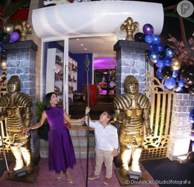 Filho de Mileide Mihaile, Yhudy ganhou festa de aniversário inspirada no filme 'Descendentes' nesta segunda-feira, 25 de novembro de 2019