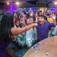 Filho de Mileide Mihaile, Yhudy se divertiu em festa de aniversário de 9 anos