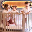 Andressa Suita sempre publica momentos em família com Gusttavo Lima e filhos