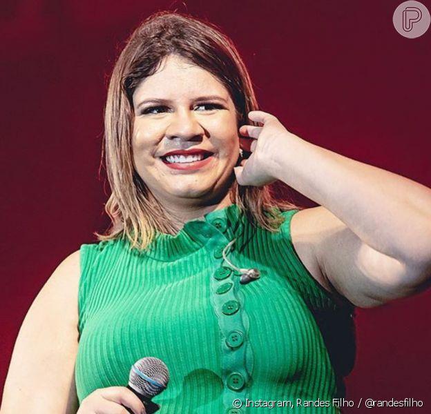 Marilia Mendonça anuncia pausa dos shows em reta final da gravidez
