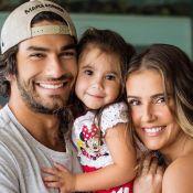 Hugo Moura posta foto da filha, Maria Flor, e fãs se dividem por semelhança