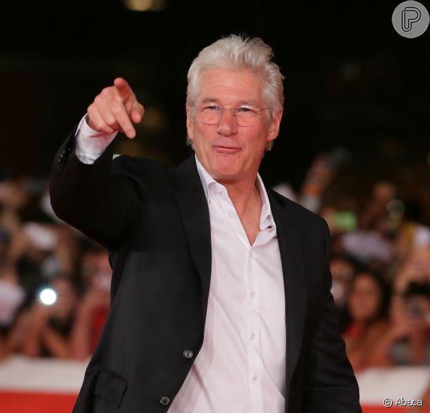 Richard Gere lançou o filme 'Time Out of Mind' no Festival Internacional de Cinema de Roma na noite de domingo, 19 de outubro de 2014