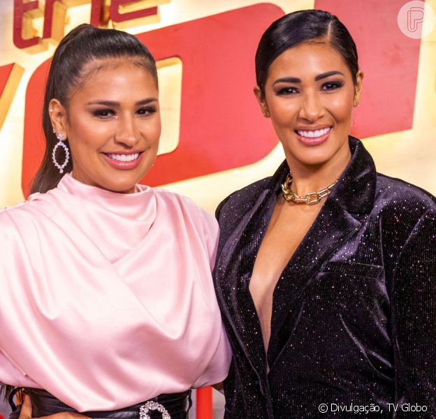 Dupla de Simone, Simaria chora ao comentar sobre perrengues da carreira em coletiva de imprensa do 'The Voice Kids' nesta quinta-feira, dia 12 de dezembro de 2019