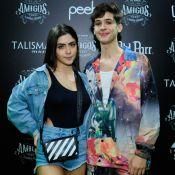 João Guilherme leva namorada, Jade Picon, para show do 'Amigos' no Rio. Fotos!