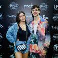 João Guilherme e Jade Picon curtiram show do 'Amigos', no Rio de Janeiro