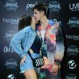 João Guilherme e Jade Picon trocaram beijo em show do 'Amigos' no Rio de Janeiro
