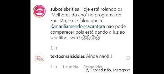 Assessoria de Marília Mendonça negou o nascimento de Léo