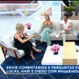 Lucas Viana relembrou entrevista no 'Hoje em Dia' na qual Hariany Almeida disse que os dois ainda iriam conversar sobre namoro