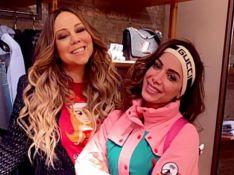 Anitta é elogiada por Mariah Carey após encontro em Aspen: 'Linda'. Vídeo!