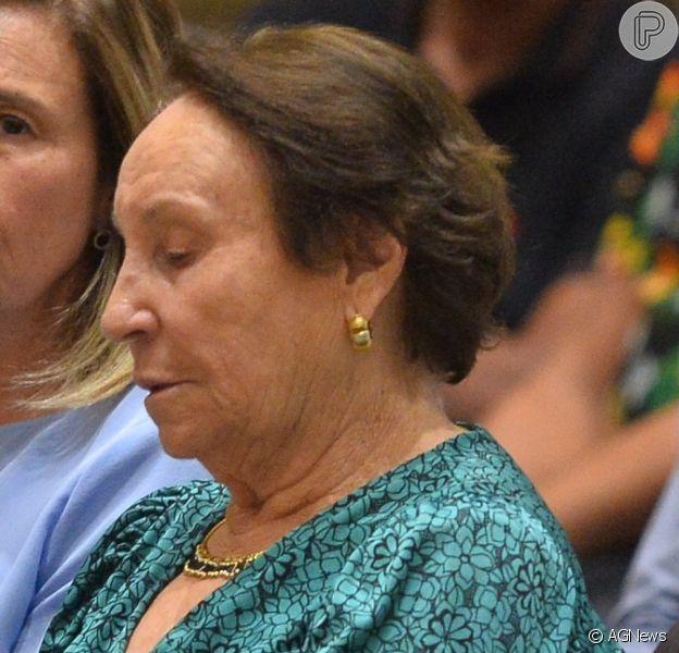 Gugu Liberato deixou uma pensão vitalícia para a mãe, Maria do Céu, em seu testamento