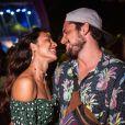 Bruno Gissoni e Agatha Moreira são clicados em clima de romance