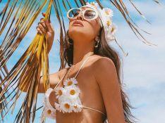 3D, cores vibrantes e mais: o beachwear das famosas nas viagens de réveillon