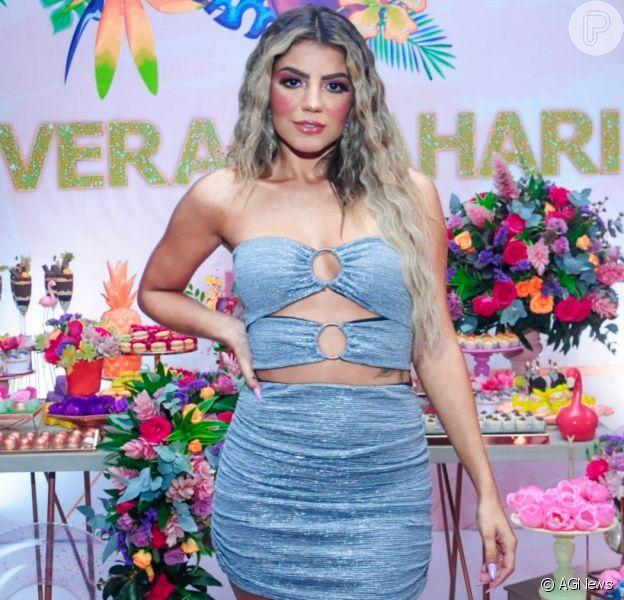 Hariany Almeida dá festa com tema verão para lançar site e comemorar sucesso no Instagram