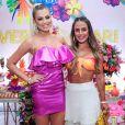 Isabella Cecchi e Carol Peixinho continuaram amizade após 'BBB19'