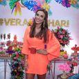 Nicole Bahlsprestigia festa de verão de Hariany Almeida