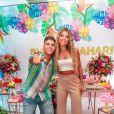 Hariany curte festa especial com famosos