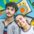 O final da novela 'Bom Sucesso' tem final feliz para Vicente (Gabriel Contente) e Gabriela (Giovanna Coimbra)