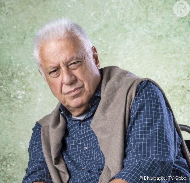No último capítulo da novela 'Bom Sucesso', Alberto (Antonio Fagundes) morreu e emocionou o público: 'Chorando!'