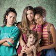 No último capítulo da novela 'Bom Sucesso', os filhos de Paloma (Grazi Massafera), Gabriela (Giovanna Coimbra), Peter (João Bravo) e Alice (Bruna Inocêncio) tiveram sucesso cada um na sua área