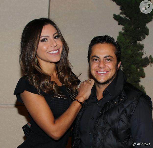 Andressa Miranda destacou o marido, Thammy Miranda, como pai de Bento: 'Ele é muito parceiro'