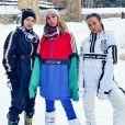Anitta curtiu viagem para Aspen com amiga influenciadora, Lexa e a bailarina Ohana Lefundes, com quem já revelou ter ficado