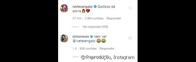 Ivete Sangalo comenta em foto do marido, Daniel Cady, sem camisa