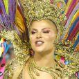 Luisa Sonza relatou medo de vomitar antes de estrear como musa da Grande Rio: 'Comi arroz, feijão e frango'