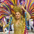 Luisa Sonza foi uma das musas do desfile da Grande Rio neste carnaval 2020