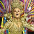 Luisa Sonza foi uma das musas do desfile da Grande Rio