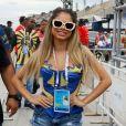 Lexa e mais rainhas de bateria compareceram à apuração do Rio de Janeiro