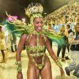 Pé quente, Iza comemora título da Imperatriz pela Série A do Carnaval 2020: 'É Campeã'