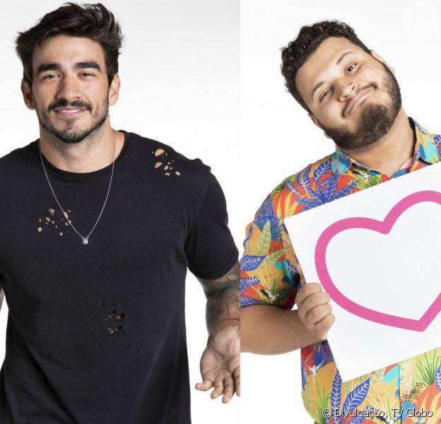 Victor Hugo se declarou para Guilherme no 'Big Brother Brasil 20'