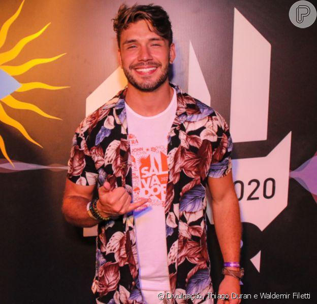 Vencedor de 'A Fazenda 11', Lucas Viana descobriu nódulo no pescoço