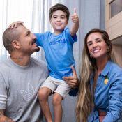 Enxoval temático e esportivo: Aline Gotschalg presenteia filho com novo quarto